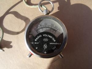 Radio Voltmeter 6/120V